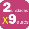 REVLON MAQUILLAJE: 2 UNIDADES 9 EUROS