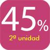 CLARINS COSMETICA SEGUNDA UNIDAD 45%