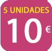 5 FFP2 COLORES POR 10 EUROS