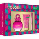 BENETTON COLORS PINK COL.50 VAP+BODY 50+MINI