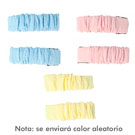 INCA 2 CLIPS WRINKLED FABRIC PASTEL COLOURS*