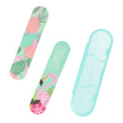 INCA IMP.PACK 2 NAIL FILES WITH CASE