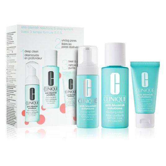 clinique anti-blemish solutions 3 step system set