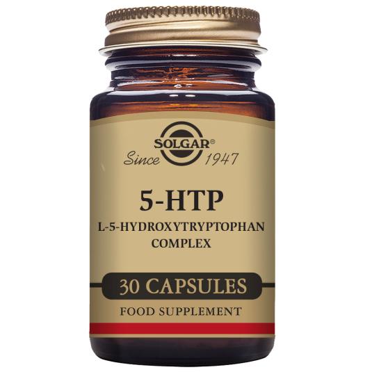 SOLGAR 5-HTP L-5-HIDROXITRIPTÓFANO COMPLEX 30 CÁPSULAS