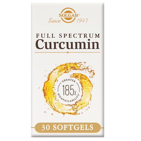 SOLGAR FULL SPECTRUM CÚRCUMA 185x 30 CÁPSULAS