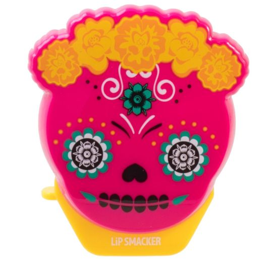 lip smacker dia de los muertos passion fruit balsamo labial