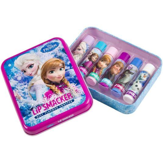 lip smacker frozen 2 set 6 bálsamos labiales infantiles