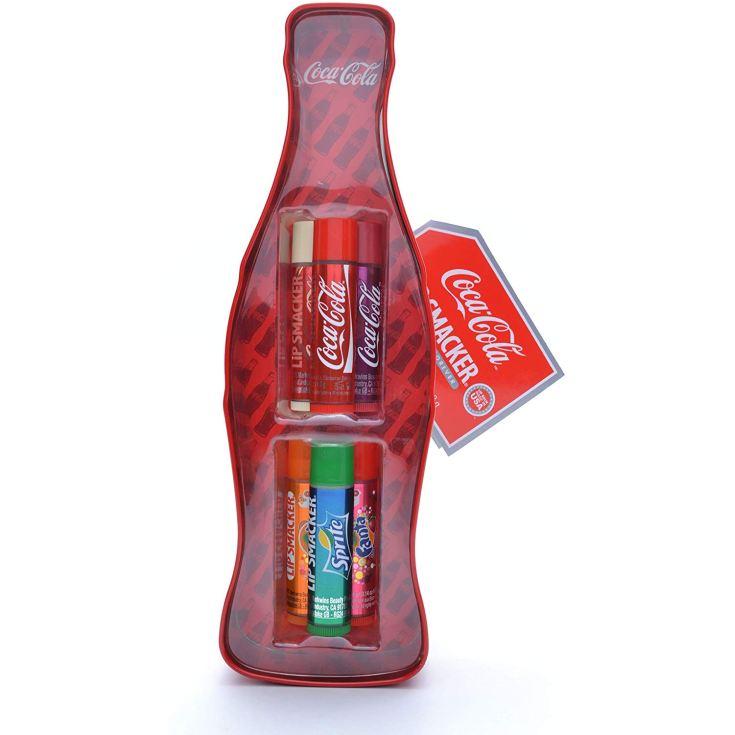 lip smaker coca cola botella 3d set balsamo labial