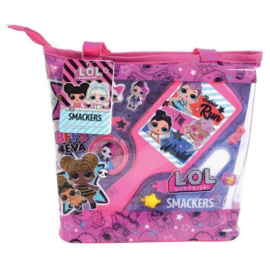 markwins lol surprise set maquillaje infantil + bolsa tote