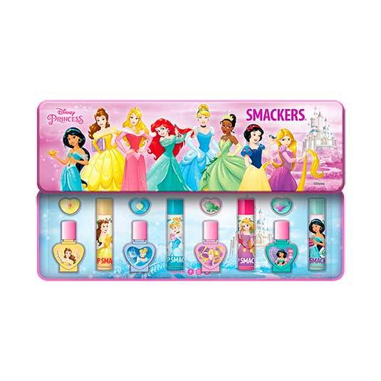 lip smacker disney princesas set bálsamos labiales