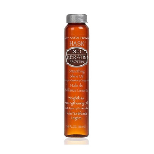 hask keratin protein smoothing shine oil