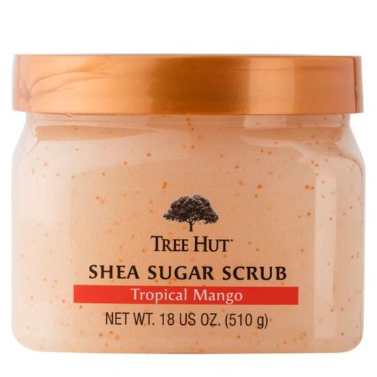 TREE HUT EXFOLIANTE DE AZÚCAR, KARITÉ Y MANGO TROPICAL 510g
