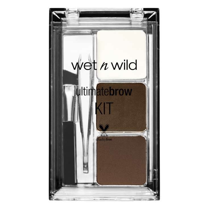 wet n wild ultimate soft brown kit maquillaje cejas