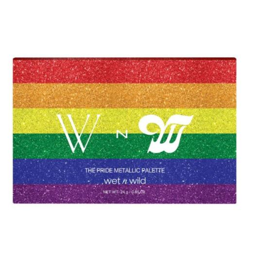 wet n wild pride metallic eyeshadow palette limited edition