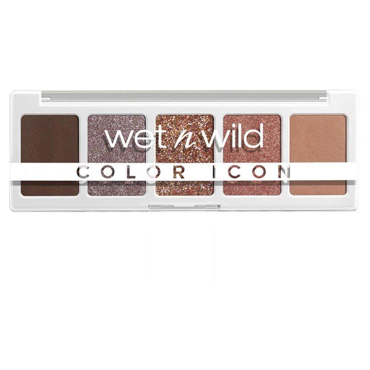 wet n wild color icon 5-pan paleta sombra de ojos