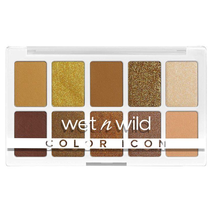 wet n wild color icon 10-pan paleta sombra de ojos