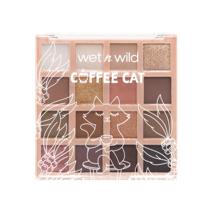 wet n wild coleccion coffee cat & ice cream bee paleta de sombras de ojos