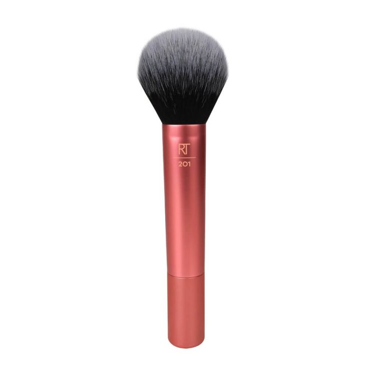 real techniques powder make-up brush brocha polvos compactos