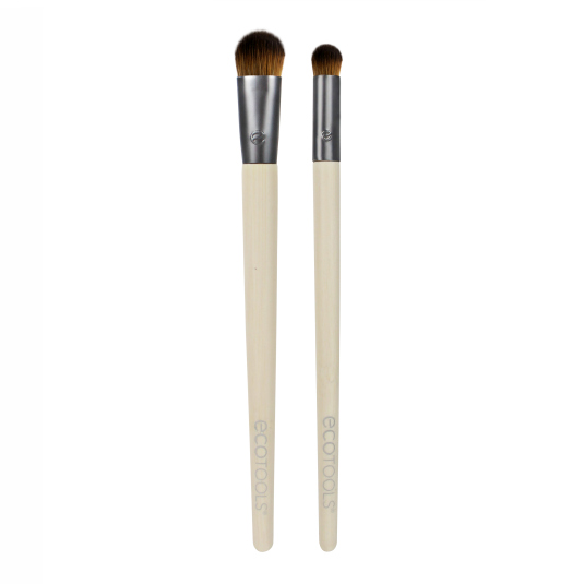 ECOTOOLS DUO DE BROCHAS PARA SOMBRAS ULTIMATE
