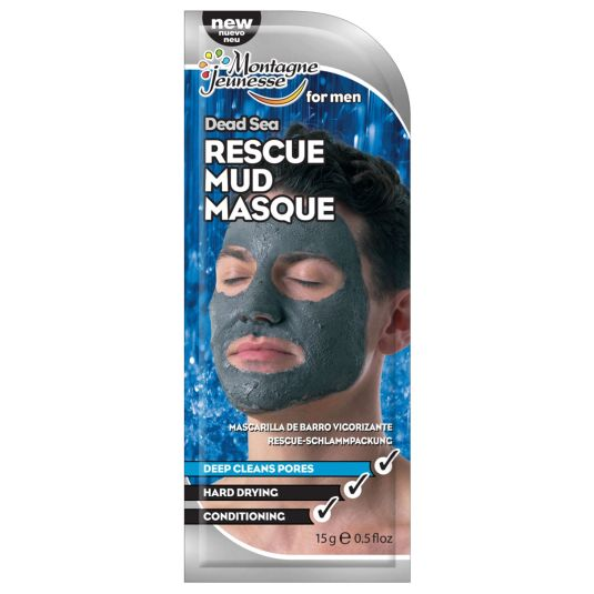 m.j. mascarlla de barro vigorizante de hombre