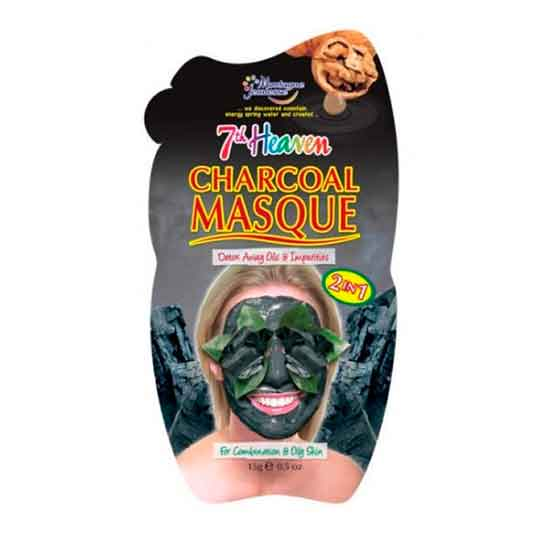 7th heaven charcoa masque mascarilla facial exfoliante carbon
