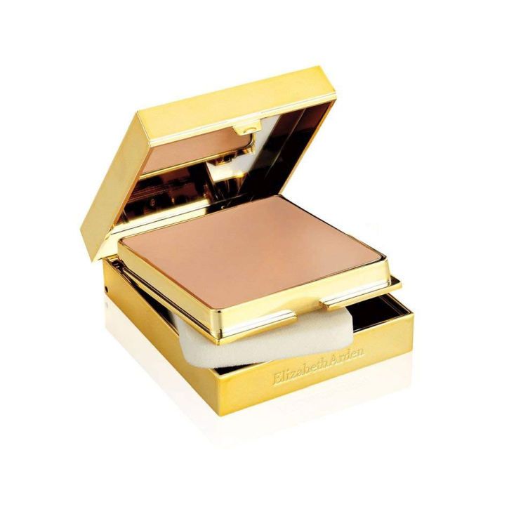elizabeth arden flawless finish sponge-on base de maquillaje compacto
