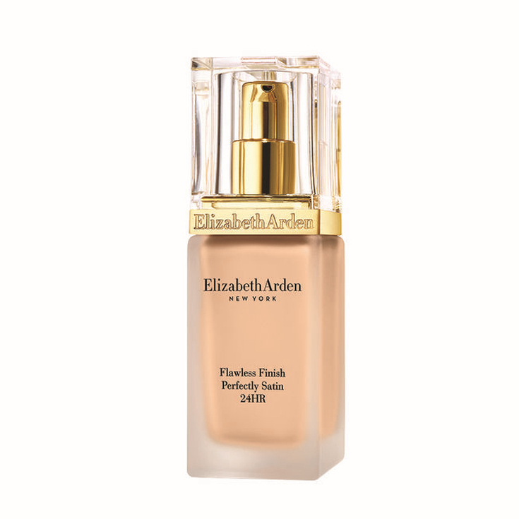 elizabeth arden flawless finish perfectly satin base de maquillaje líquido