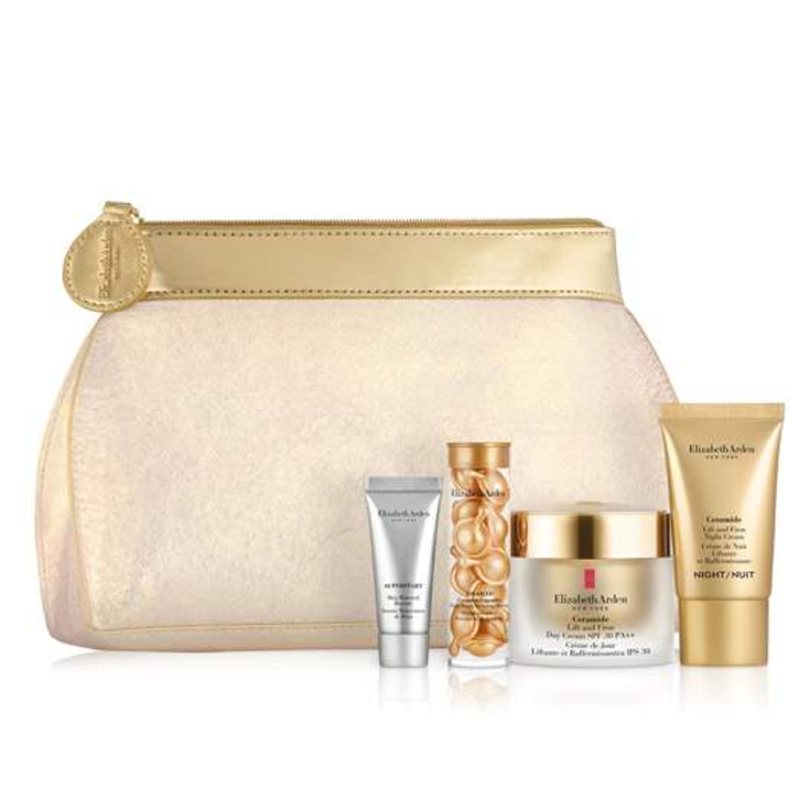 elizabeth arden ceramide lift and firm day and night cream holiday set