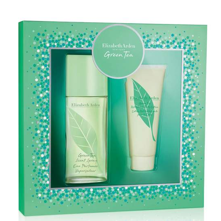 elizabeth arden green tea eau de parfum 100ml duo