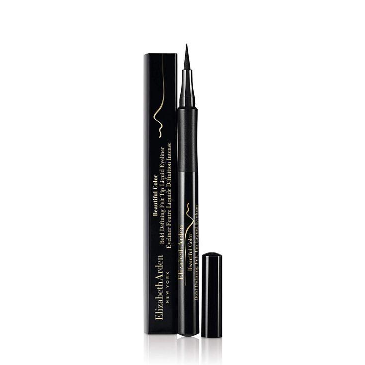 elizabeth arden bold defining felt tip eyeliner líquido negro