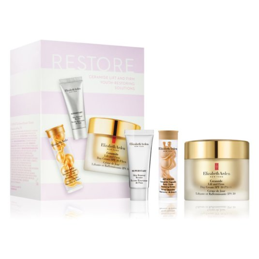 elizabeth arden ceramide lift and firm youth-restoring solutions set 3 piezas