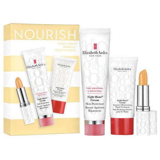 elizabeth arden eight hour nourishing skin essentials set 3 piezas