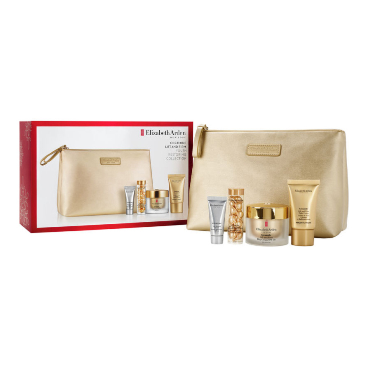 elizabeth arden ceramide lift & firm firmcream spf30 50ml gift set 4 piezas + neceser