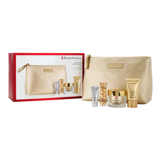 elizabeth arden ceramide lift & firm cream spf30 50ml gift set 4 piezas + neceser