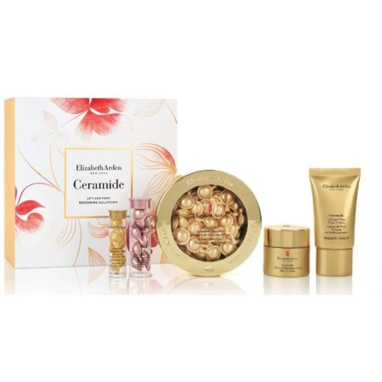 elizabeth arden advanced ceramide capsules daily youth restoring serum set regalo 5 piezas