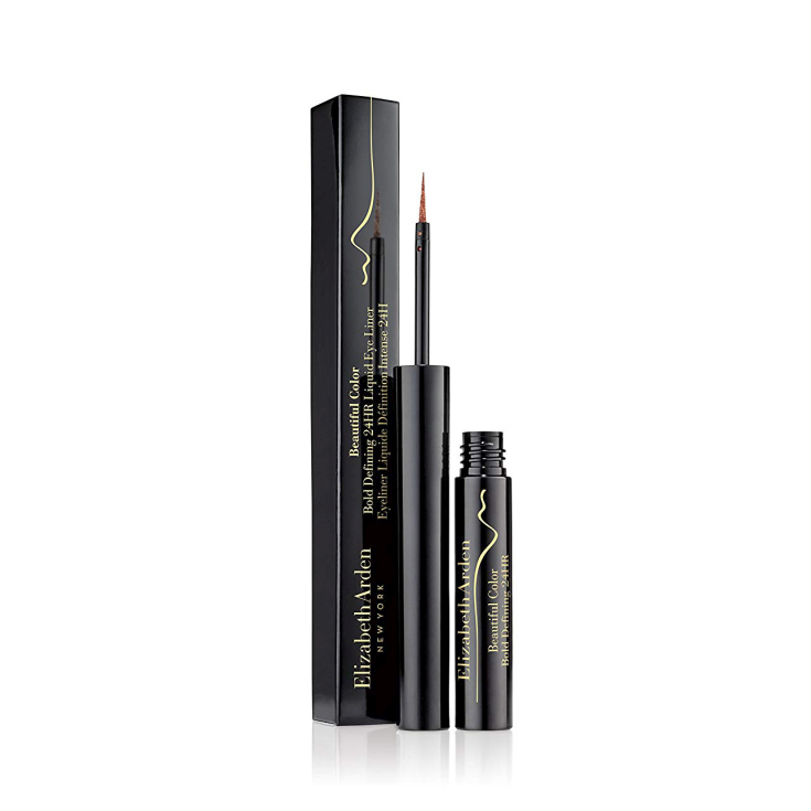 elizabeth arden beautiful color bold defining 24hr eyeliner líquido
