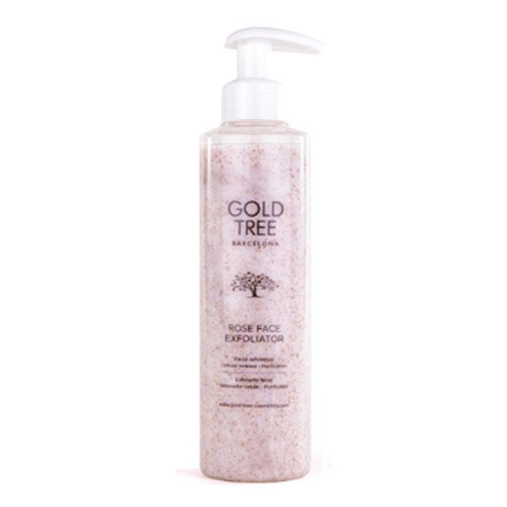 gold tree exfoliante rose face exfoliator 200ml