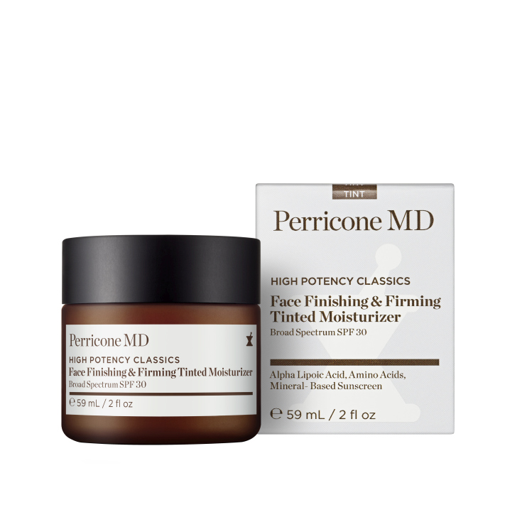 perricone md high potency classics face finishing & firming moisturizer tint spf30 59ml