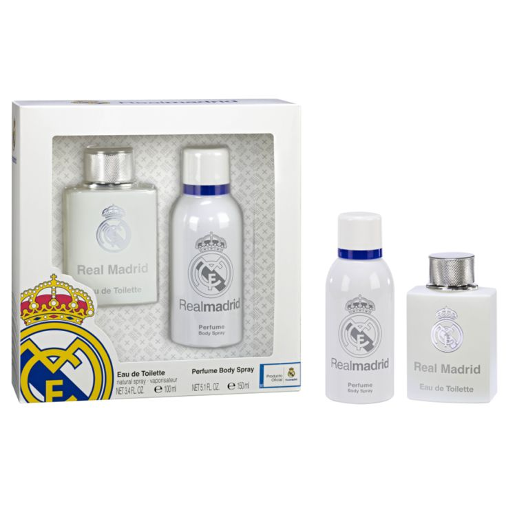 real madrid set colonia 100 ml+ desodorante 150 ml