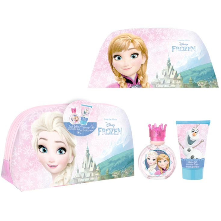 frozen set colonia 50 ml + gel 100 ml + neceser