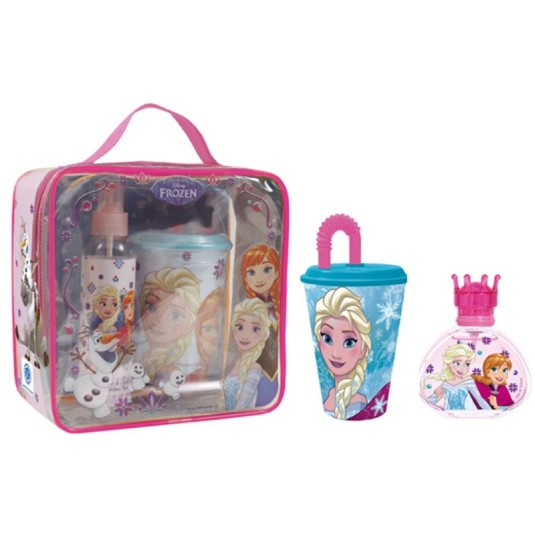 frozen colonia 50ml set neceser + vaso caña