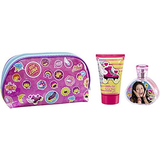 SOY LUNA COLONIA 50ML+GEL 100 ML+NECESER