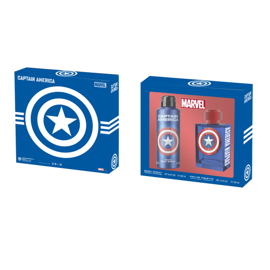 CAPITAN AMERICA SET COLONIA 100 ML + GEL 200 ML