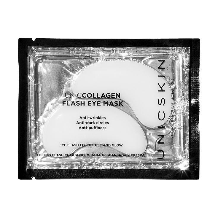 unicskin uniccollagen eye flash mask 2 patchs