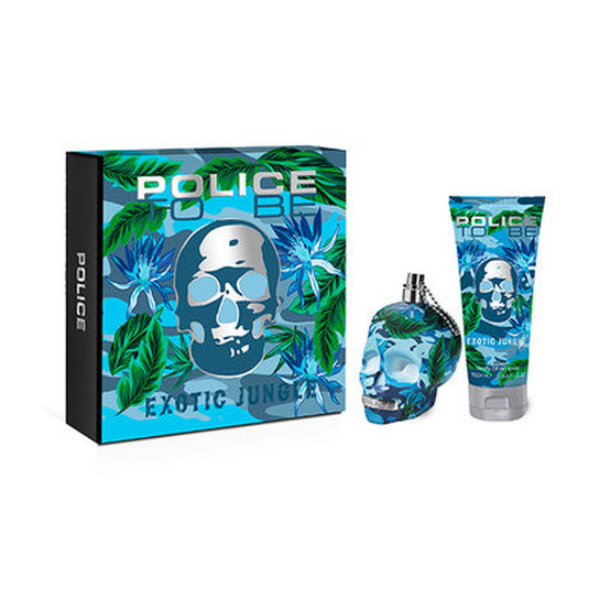 police to be exotic jungle man eau de toilette cofre regalo 2 piezas