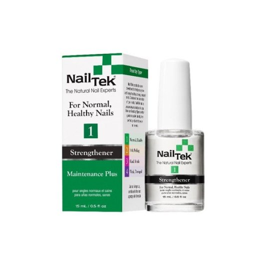 NAILTEX ENDURECEDOR MAINTENANCE PLUS 1 PARA UÑAS SANAS 15 ML