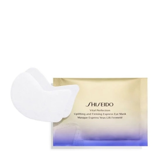 shiseido vital perfection uplifting and firming express eye mask mascarilla antienvejecimiento