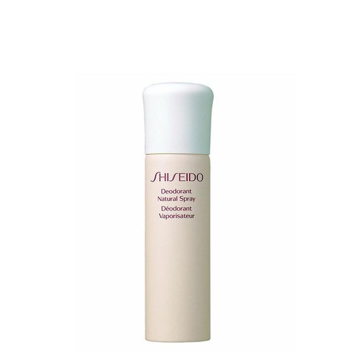 shiseido desodorante natural spray mujer 100ml