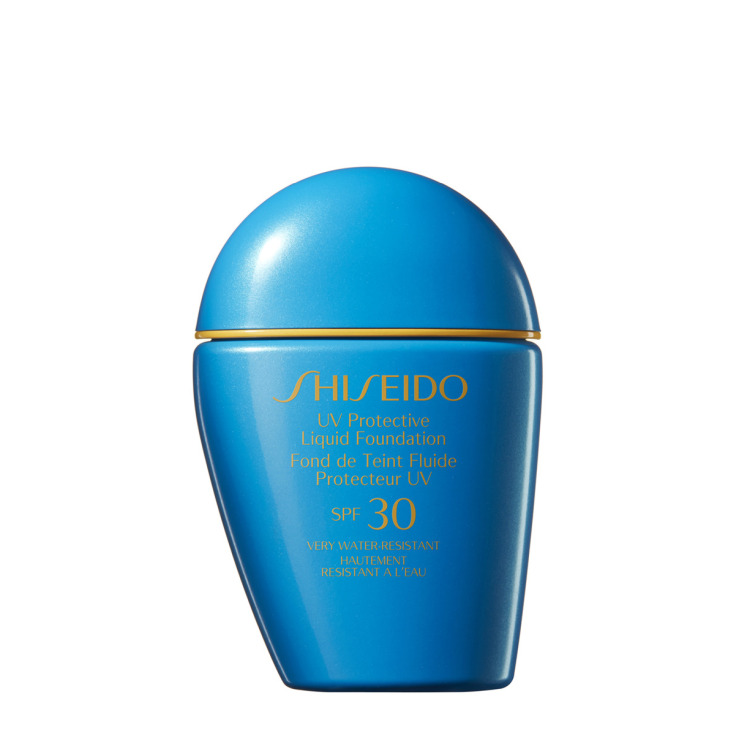 shiseido uv protective spf30 base de maquillaje líquido