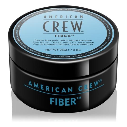 american crew fiber cera fijación fuerte 85g